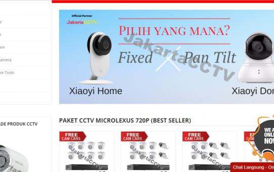 Jakartacctv.co.id Jual CCTV untuk rumah dengan harga terjangkau